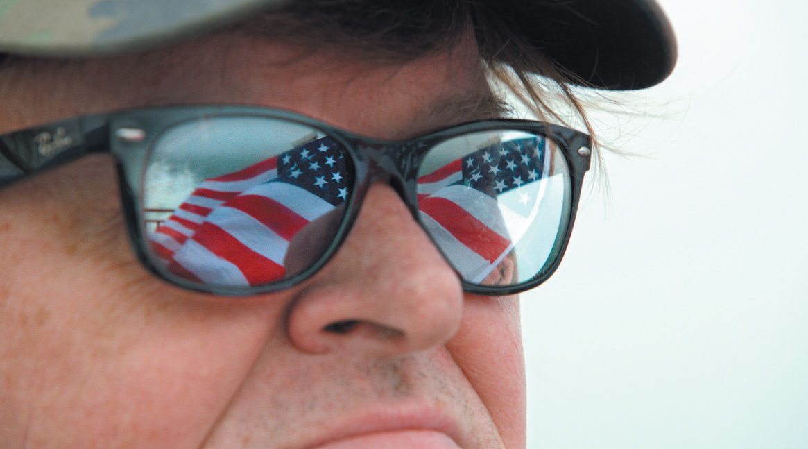 Michael Moore – back in subversive, eye-opening and entertaining action.