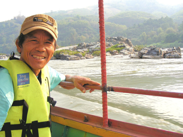Mr. Chak Kineesee, Program and Outreach Director at the Mekong School for Local Knowledge.