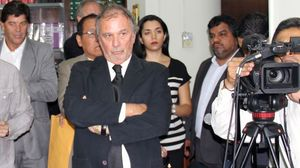 Journalist Rafael Leon.Photo: Supreme Court of Lima