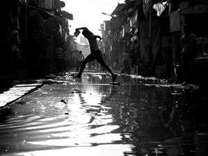 Dharavi slum.Photo by Thomas Leuthard