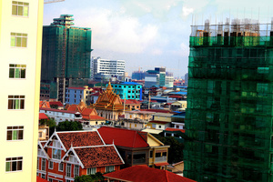 Phnom Penh, Cambodia's capital city.