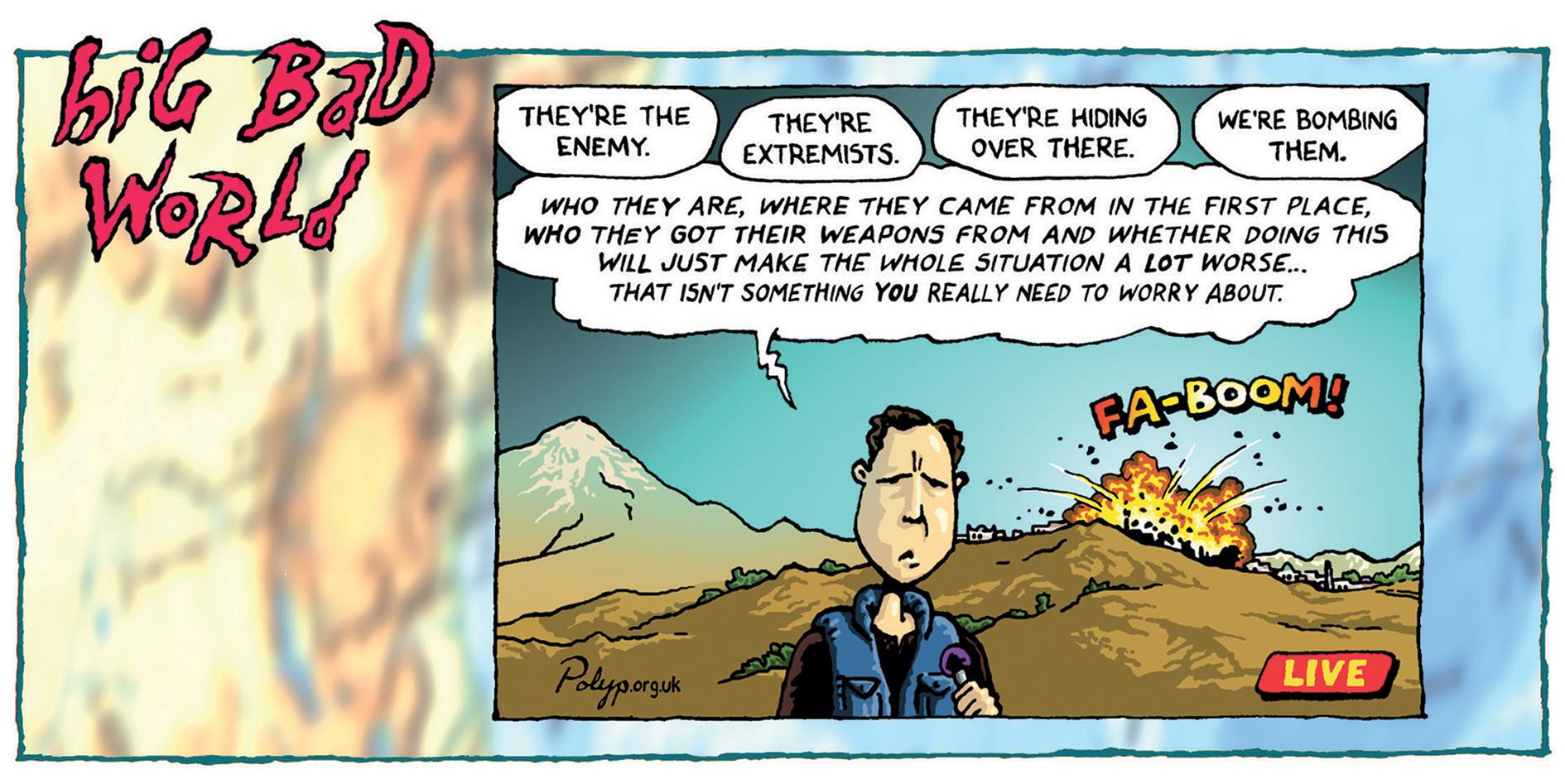 Big Bad World - The Enemy