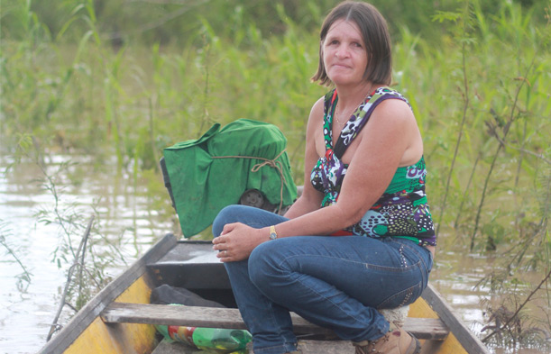 On 21 June 2016, dam workers found Nilce de Souza Magalhães' (above) body washed up on the river bank of Usina Hidrelétrica Jirau, a dam that she had publicly opposed.