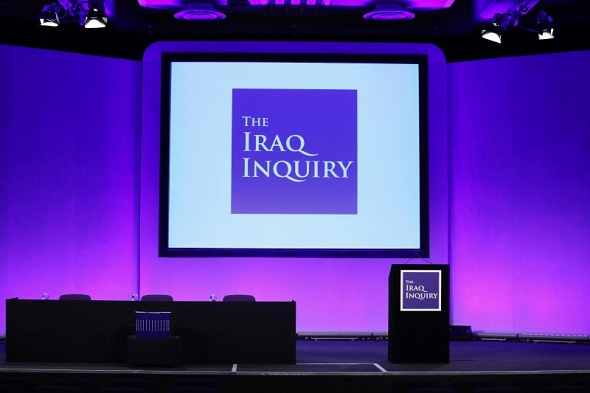 A view of the auditorium where the Iraq Inquiry Report was presented by Sir John Chilcot at the Queen Elizabeth II Centre in Westminster, London, Britain 6 July 2016.