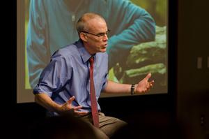 Bill McKibben founder of 350.orgPhoto by SNRE