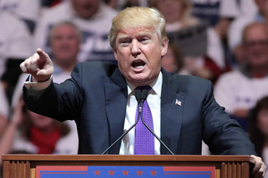 Donald Trump speaks at a campaign event in 2016.Photo: Gage Skidmore under a Creative Commons Licence