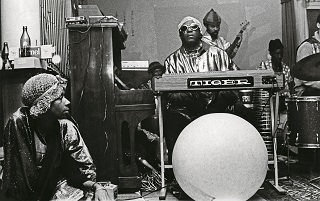 The visionary, eccentric and briliant African-American Sun Ra. <br />