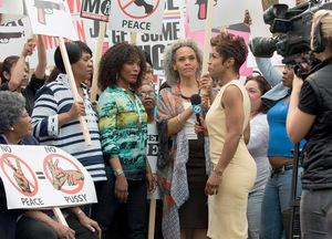 Chicago women launch a sex-strike for peace in Spike Lee's turbulent and exuberant Chi-Raq.