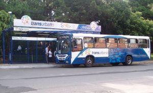 Camioneta, a public bus in Guatemala City.