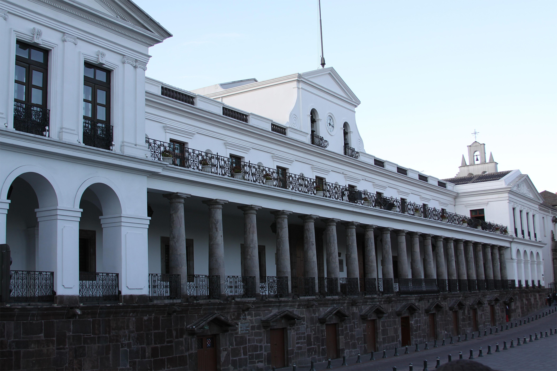 Carondelet Palace, official residence and principal workplace of the President of Ecuador.