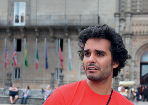 'Can I live with a weight of not doing something? I think that's far heavier,' says Luaty.Photo: Mónica Almeida PRESS
