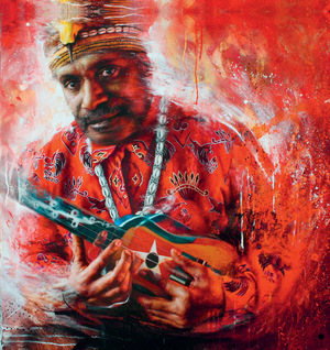 Portrait of Benny Wenda