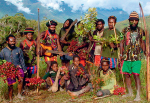A resistance gathering in the West Papuan highlands.Photo: Dominic Brown