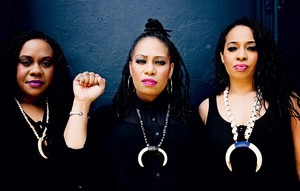 The Black Sistaz: Petra, Lea and Rosa Rumwaropen.Photo: theblacksistaz.com