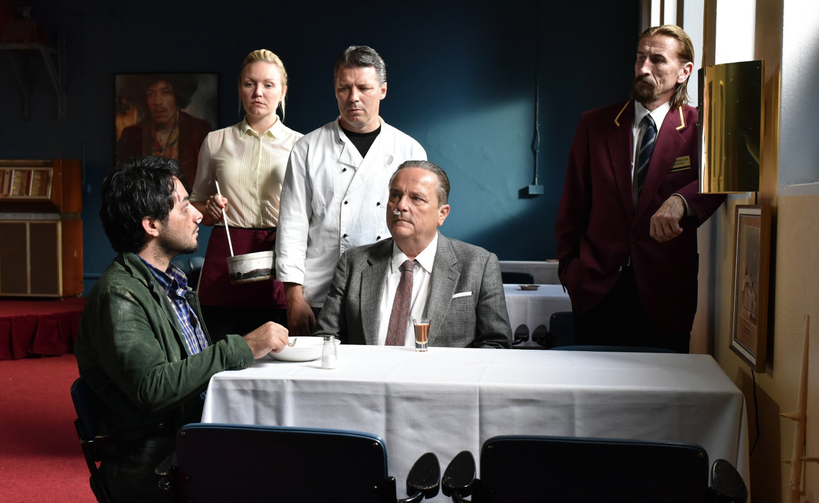 Syrian refugee gets Finnish welcome in Kaurismäki's offbeat, downbeat and oddly uplifting film.