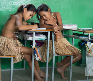 Indigenous children are disproportionately left behind.Photo: Hugh Stitton / Corbis / Getty Images