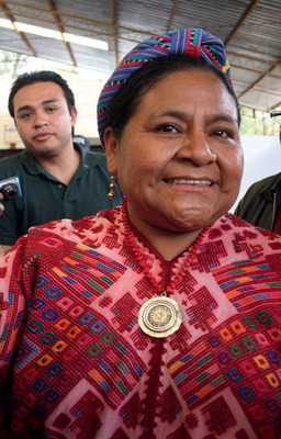 Where are they now? Rigoberta Menchú