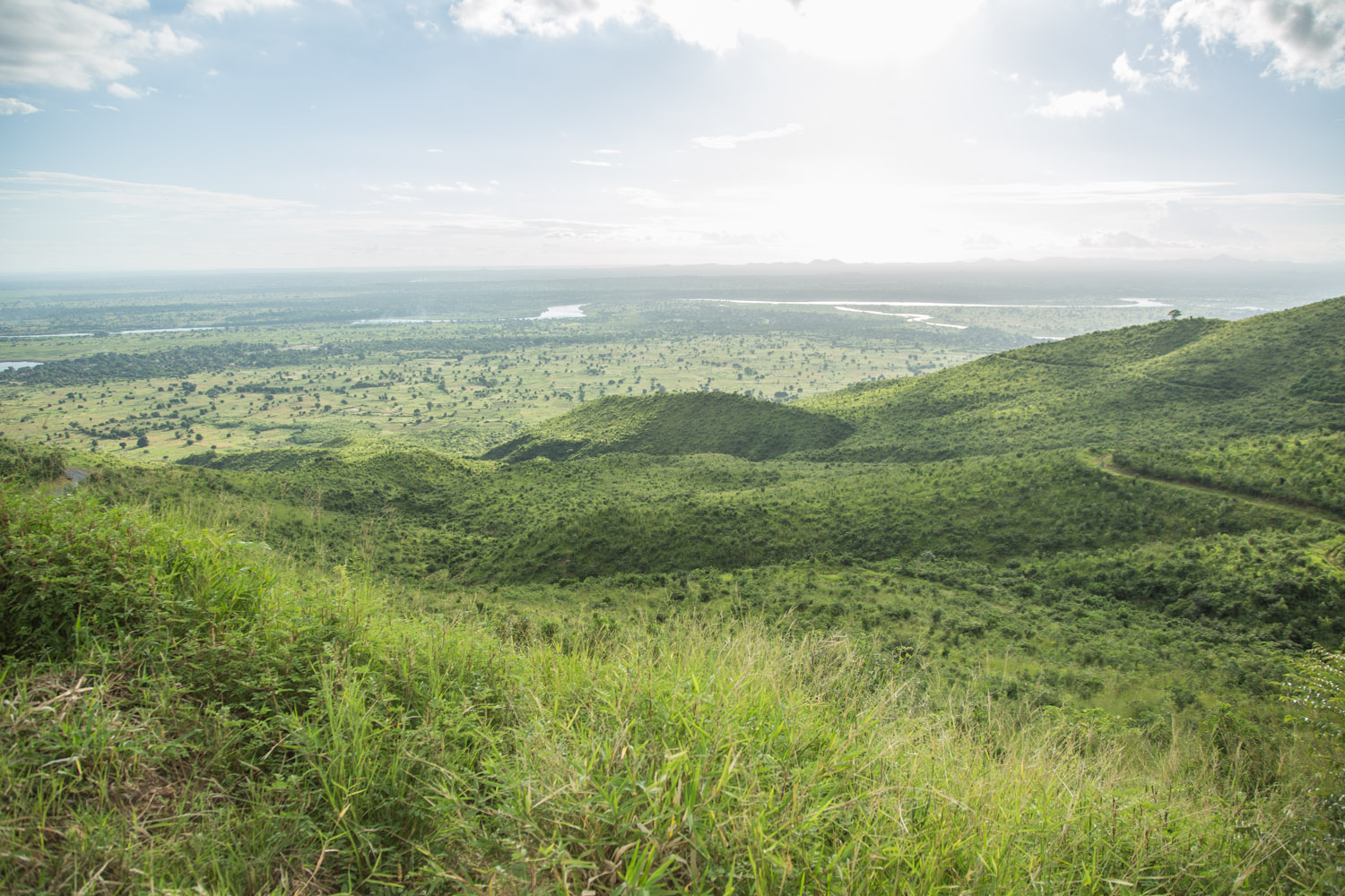 View of Malawi's Shire valley. The power generated by three hydro power plants in the Shire river has fallen by 66 percent due to Lake Malawi's declining water level, blamed on erratic rains made worse by climate change.