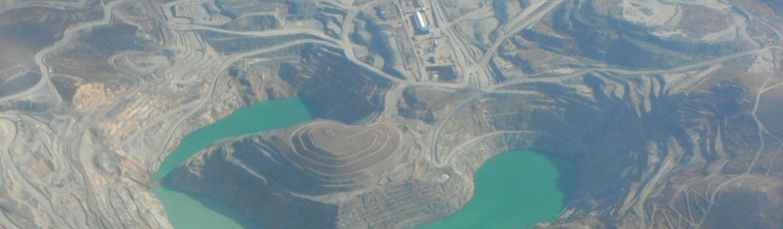 Peruvian copper mine, 'Minas de Tintaya'