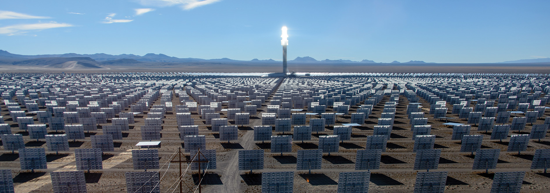 An example of the proposed solar plant for Port Augusta.
