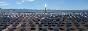 An example of the proposed solar plant for Port Augusta.Photo: SolarReserve