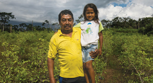 Illicit crops are still the only option for farmers like Arnulfo Perdomo.Photo: Shahidul Alam/DRIK