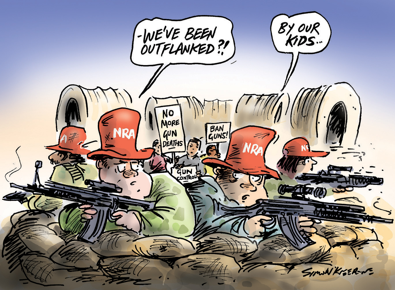 Scratchy Lines - Gun laws
