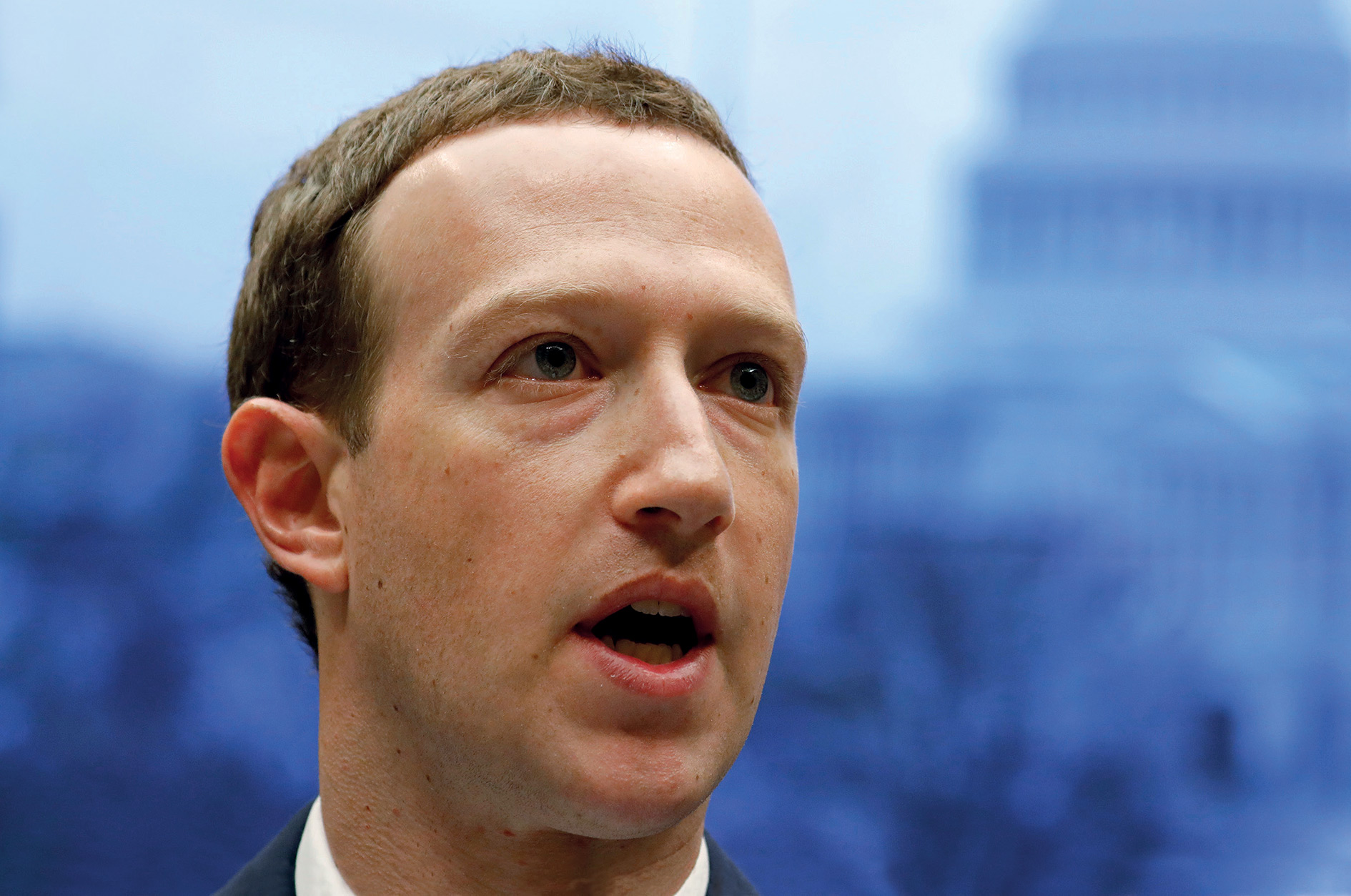 Facebook's all-powerful Mark Zuckerberg dodged awkward questions, citing unfamiliarity with the law.