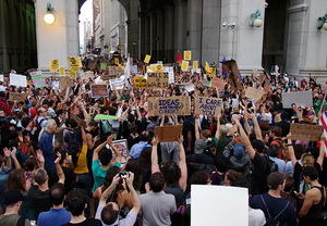 30 September 2011 - Day 14 of the Occupy Wall Street protests.
