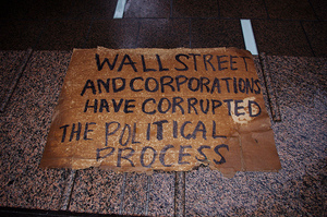 Let's end corruption – starting with Wall Street David Shankbone under a CC Licence