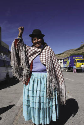 'I am old but I will strike again if necessary,' says Concepción Consechoke.Vanessa Baird