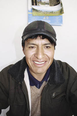 'Many of our people have worked in mines,' says Mauro Cruz. 'They know what happens...'