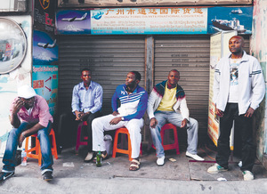 There are 15,000 African traders, students and workers living in Guangzhou, China.Photo: Joerg Boethling / Alamy