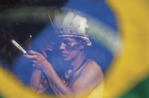 The Sateré-Mawé people of Brazil are preparing to retake their land.Photo: Raphael Alves/AFP/Getty