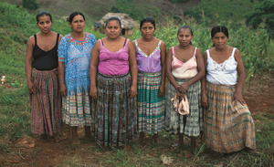 Images from the women's gathering in Chotacaj. Mayan spirituality plays an important part in indigenous feminism, but the issues dealt with are tough - racism, violence and abuse, unequal rights. Photo: James Rodriguez/Panos