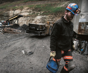 Gary Bentley was laid off after 12 years working down the mines in Letcher County, Kentucky.Photo: Lance booth