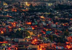 Night falls on Ranchi's dreamers.Photo: Arun Dahiya/EyeEm/Getty