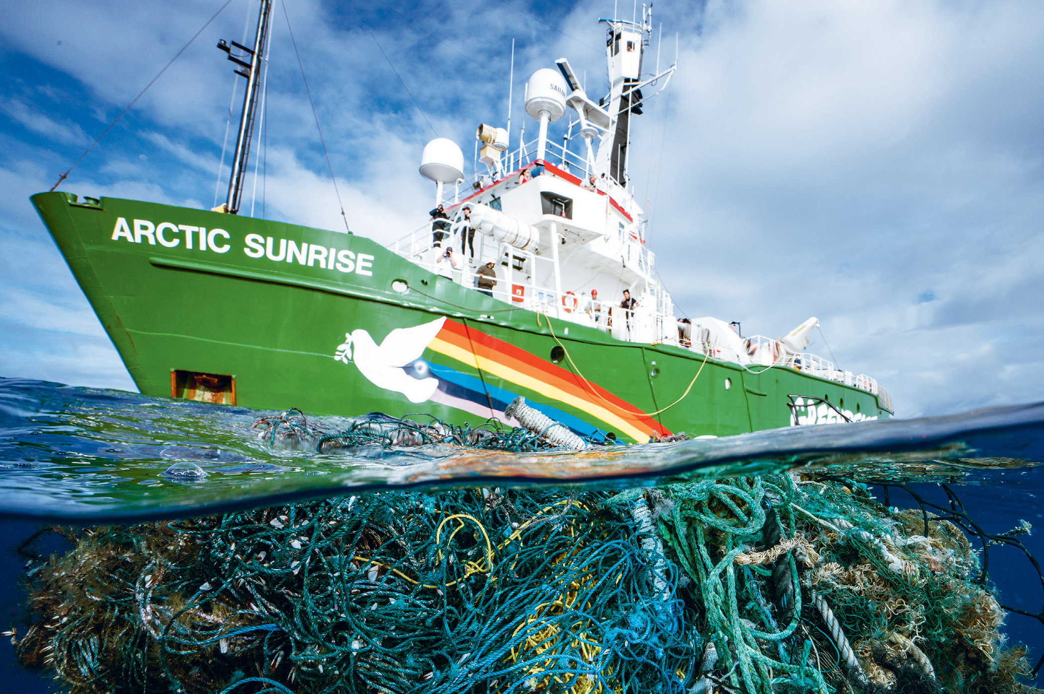 The rubbish that's visible near the surface is just part of the problem of ocean abuse – and planned future exploitation.