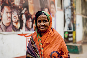 Bulu Bari is a regular at the Bangladesh Film Development Corporation complex – but work is scarce.