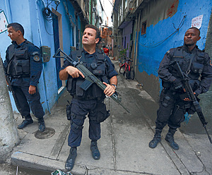 Police are now responsible for 40 per cent of all homicides in Rio.Photo: Ratao Diniz/Alamy