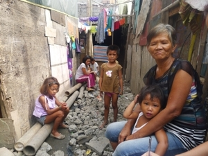 'I can stay here forever': Nanay Teri Balbirona in the community she calls home.Iris C Gonzales