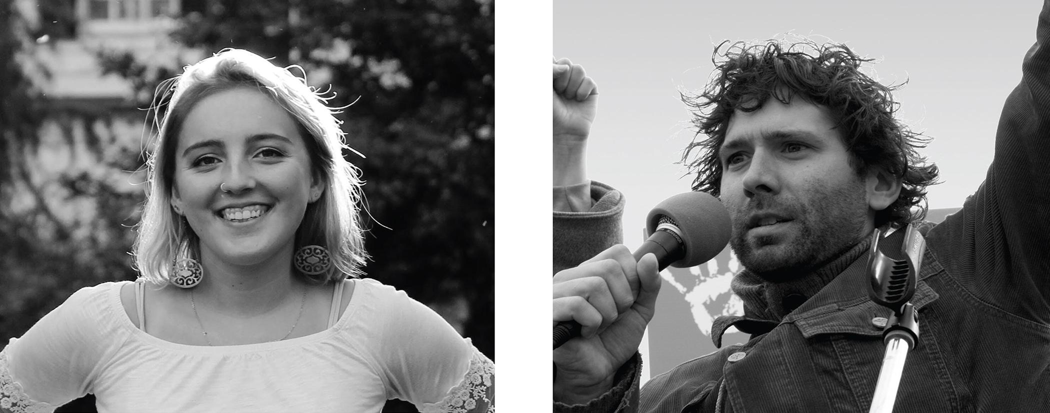 Maddie Karcher and François Léger Boyer.