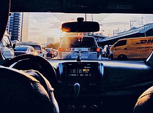 In a jam: sitting in traffic in Metro Manila, the Philippines.Photo: Joline Torres/Unsplash