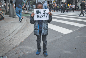Am I next? #BlackLivesMatterPhoto: Christian Monterrosa/​AP/​Shutterstock