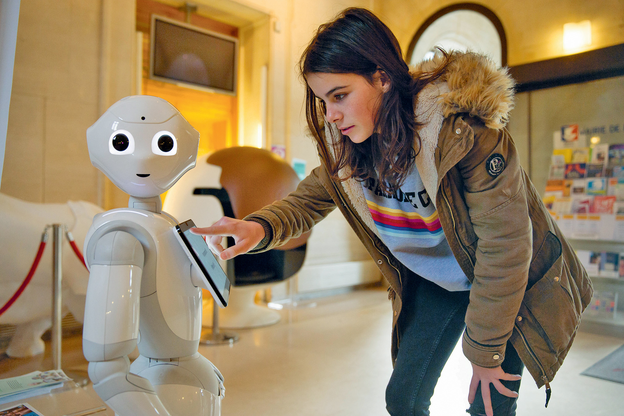 Perfect company? The popularity of robot caregivers is growing.
