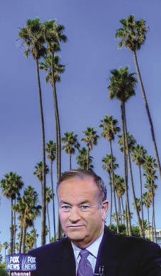 Palm trees in the snow Alex Habermehl; futureatlas.com (Bill O'Reilly); Eccentric Scholar (palm trees) both under a CC Licence.