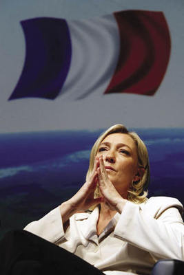 Marine Le Pen, leader of the far-right Front National, has her eyes on the French presidency.Pascal Rossignol / Reuters