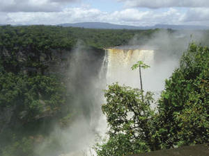 The spectacular waterfall on the Potaro riverRobert Coates