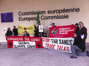 Stop the tar sands trade talks