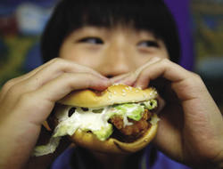 Is being vegan the only green option? Nicky Loh / Reuters
